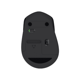 Mouse wireless Logitech M330 Silent Plus , Logitech Advanced Optic , 1000 DPI , Negru